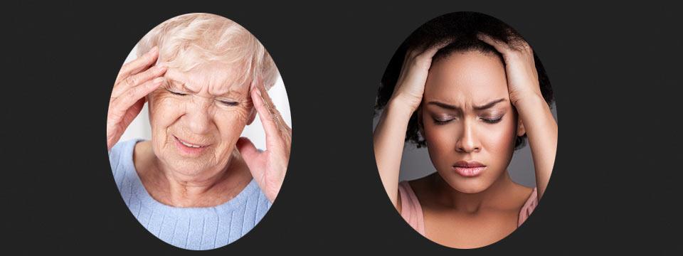 Bei Kopfschmerzen: So bauen Sie Spannungen ab